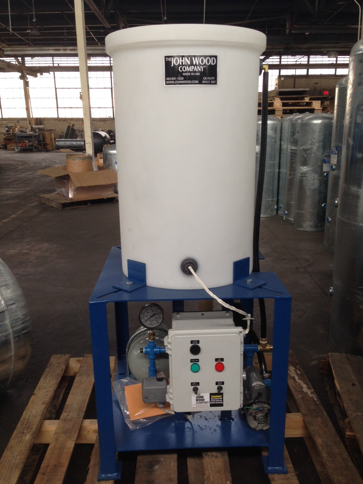 The John Wood Company Glycol Make Up Units The John Wood